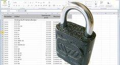 Den Excel Blattschutz aufheben mit 7-Zip
