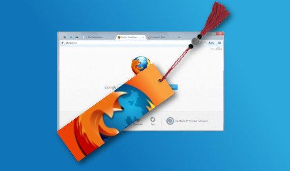 Firefox Lesezeichen sichern und wiederherstellen: Bookmarks speichern