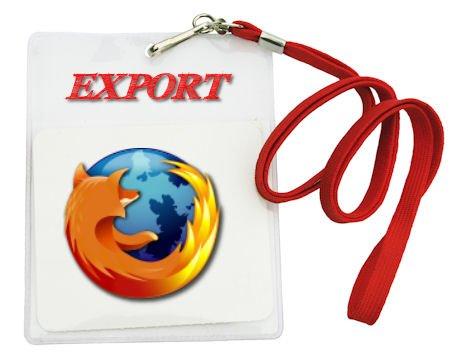 Firefox Passwörter exportieren - so wird's gemacht!