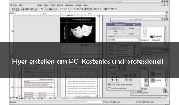 Flyer erstellen am PC: Die besten Tools und Anbieter im Netz