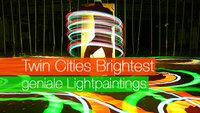 Twin Cities Brightest und ihre genialen Lightpaintings