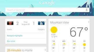 Google Now: Integration von Drittanbieter-Apps läuft an