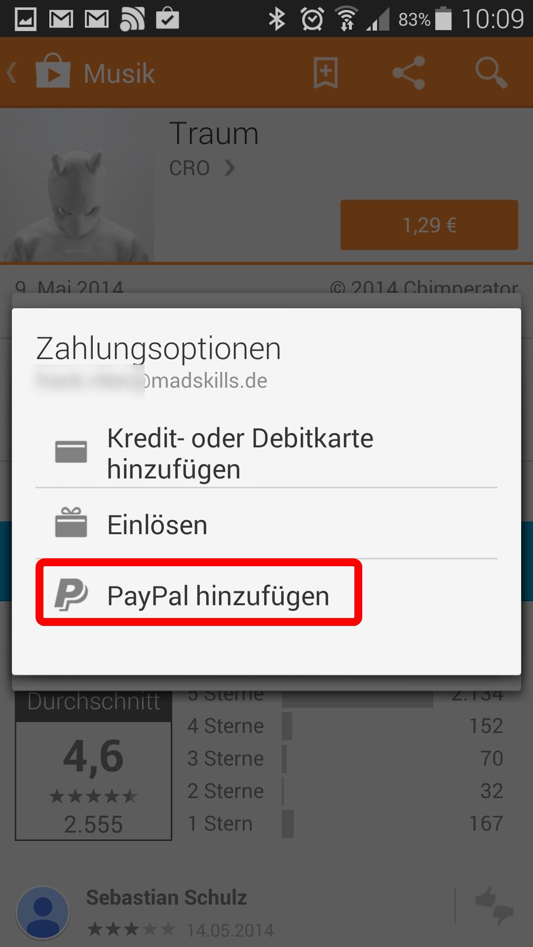 Zahlungsquelle HinzufГјgen Paypal