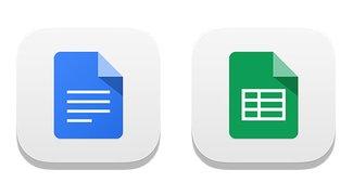 Google Docs und Google Tabellen für iOS veröffentlicht