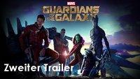 Guardians of the Galaxy: Seht hier den zweiten Trailer!