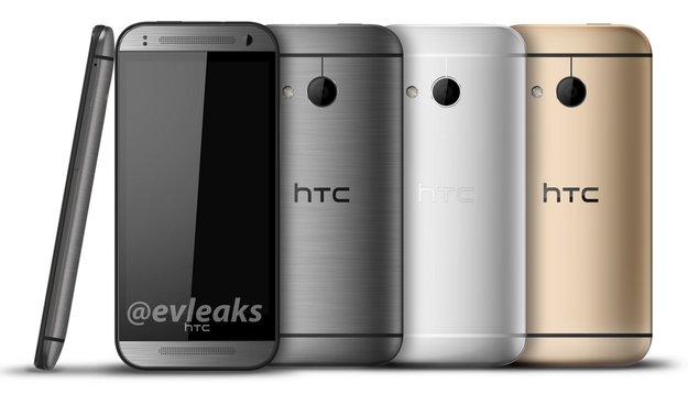 HTC One mini 2: In drei Farben gesichtet – ohne Duo-Camera