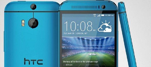 HTC One (M8): Pressebild des blauen Modells aufgetaucht