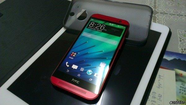 HTC One (M8): Bilder der roten Farbvariante aus Taiwan