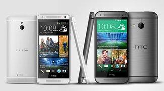 HTC One Mini 2 vs. HTC One Mini: Technische Daten im Vergleich