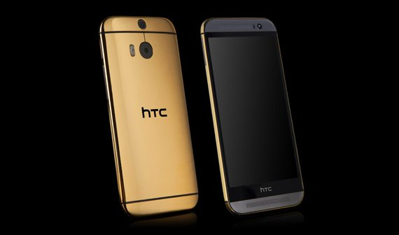 HTC One M8 in Gold (24 Karat) bestellbar!