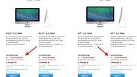 iMac: Verlängerte Lieferzeiten könnten auf neue Modelle hinweisen