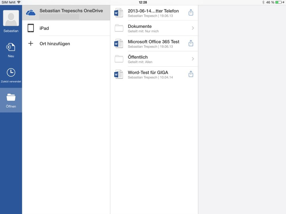 iPad-Word-Test-OneDrive