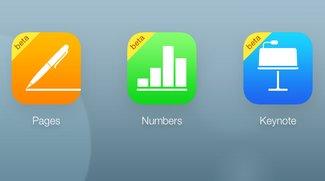 iWork für iCloud: Neue Funktionen und mehr Dokumentenspeicher