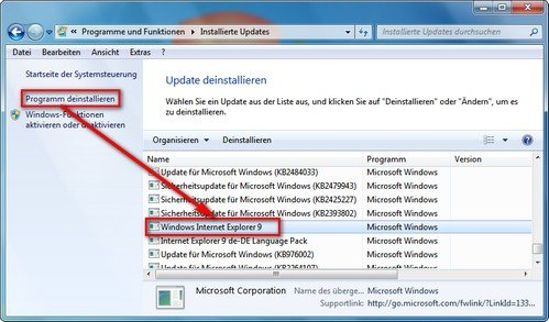 games for windows live deinstallieren