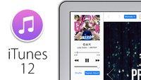 iTunes 12 mit neuem Flat-Design - Konzept