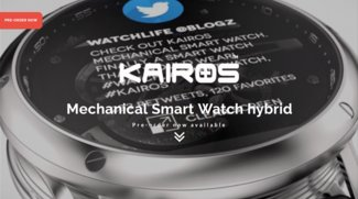 Kairos Android Wear-Smartwatch: Analog & Digital zugleich