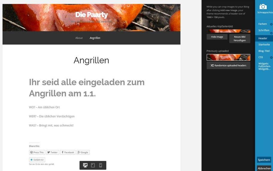 Kostenlose De Homepage