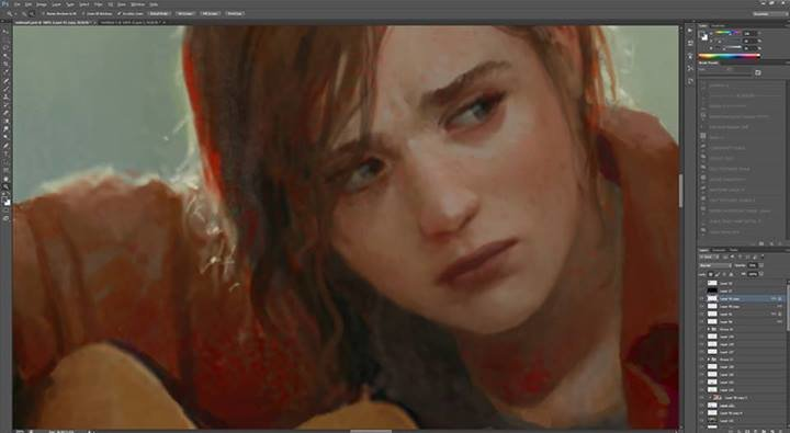 marek okon the last of us ellie