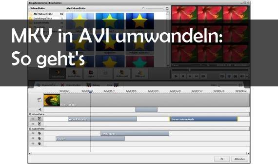 MKV in AVI konvertieren: So geht's kostenlos mit Freeware