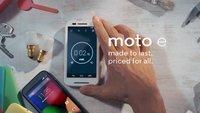 Moto E: Einsteiger-Smartphone offiziell vorgestellt