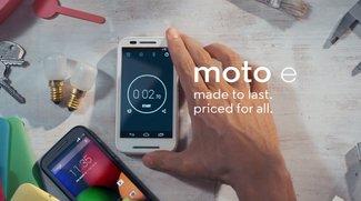 Tarif-Tipp: Moto E + 100 Freiminuten &amp&#x3B; 400 MB Datenvolumen für 7,95/Monat [Deal]