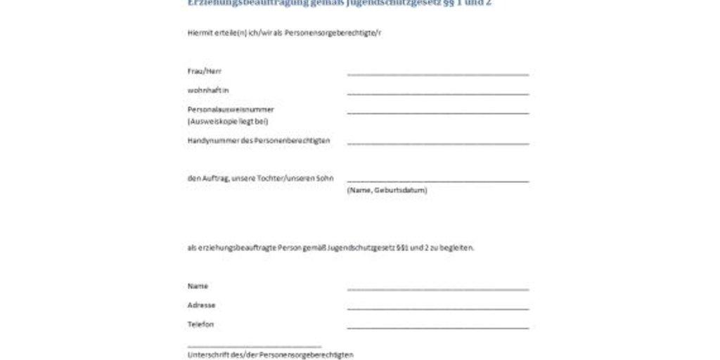 U18 Formular Der Partyzettel Zum Ausdrucken Download Giga