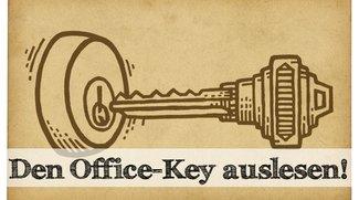 So kann man seinen Office Key auslesen…