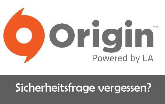 Origin: Sicherheitsfrage vergessen – Das kann man tun