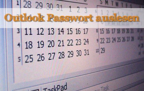 Passwort Outlook Vergessen