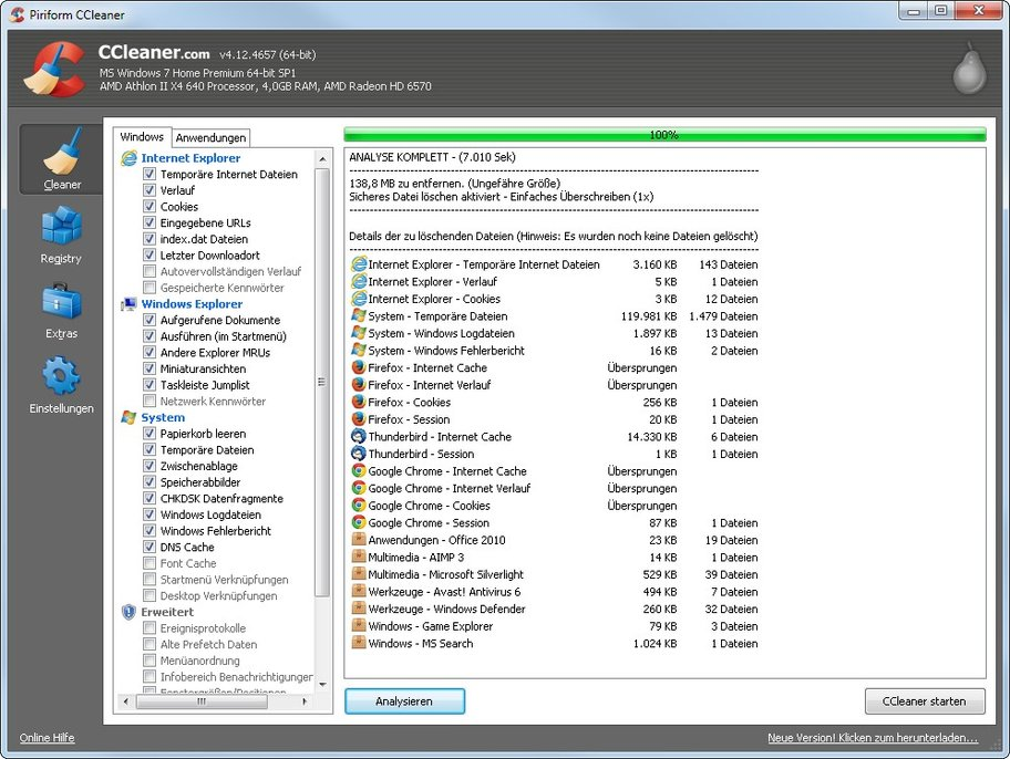 pc cleaner ccleaner
