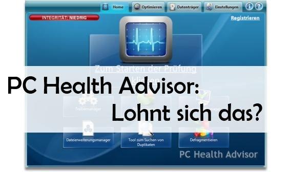 PC Health Advisor: Download sicher und nützlich? Alle Infos