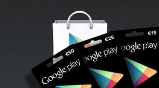 Im Play Store mit Guthaben bezahlen - Bild für Bild
