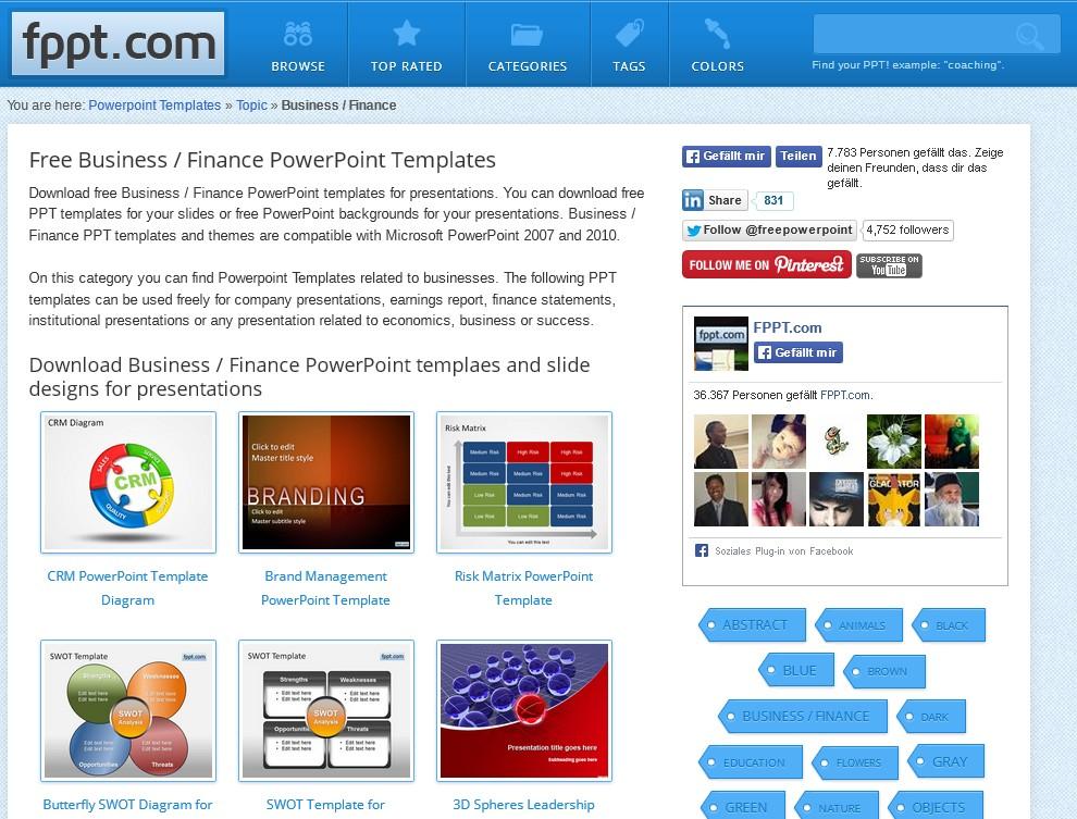 PowerPoint-Vorlagen mit Stil: Die 5 besten aktuellen Quellen – GIGA