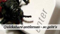 Quickshare.exe entfernen: So wird man den Virus los!