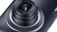 Samsung Galaxy K zoom: Smartphone-Kamera-Hybrid ab Mitte Mai für 519 Euro erhältlich