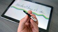 S Pen: Samsung-Patent deutet Ultraschall-Positionserkennung für den Stylus an