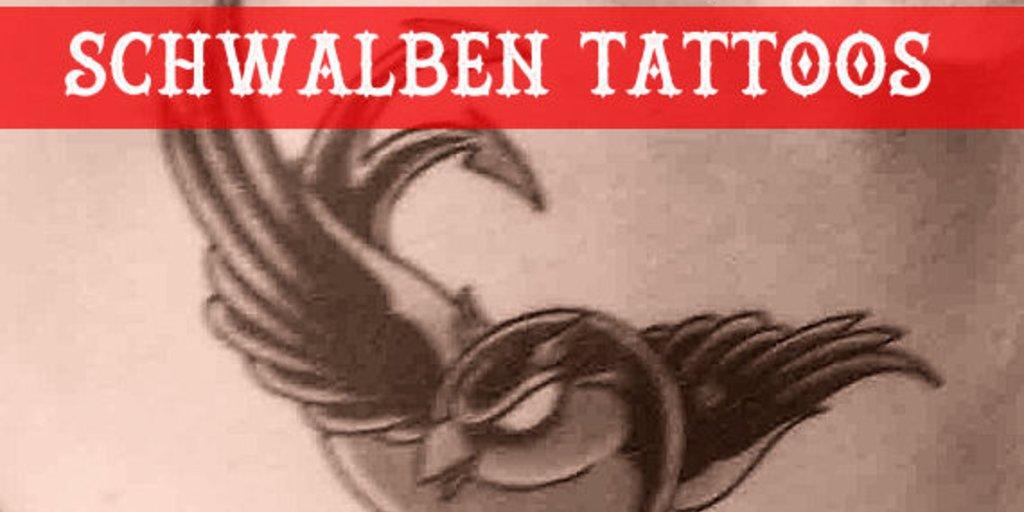 Wofür Steht Eigentlich Ein Schwalben Tattoo Giga
