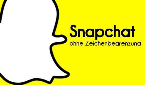 Snapchat: Zeichenlimit ausschalten (Android-Root)