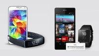Telekom Complete Comfort M + Galaxy S5 + Gear Fit mit bis zu 700 € Ersparnis