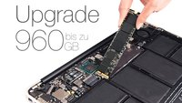 MacBook Air und Retina: Günstige SSD-Upgrades mit bis zu 960 GB jetzt verfügbar