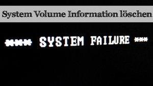 System Volume Information verkleinern oder löschen – so geht's