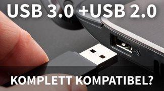 Ist USB 3.0 kompatibel zu USB 2.0? Ja, aber...