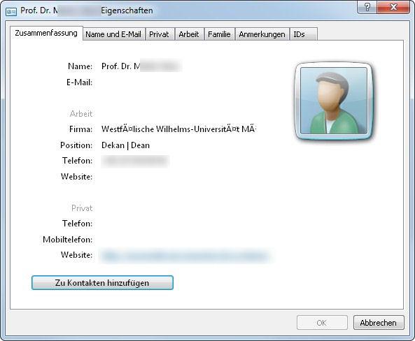 Vcf Datei