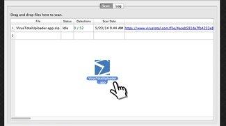 Malware-Erkennungs-Tool VirusTotal Uploader jetzt als Mac-Version erhältlich