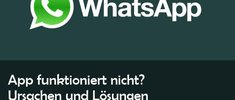 WhatsApp down? Störungen bei Download-Funktionen heute