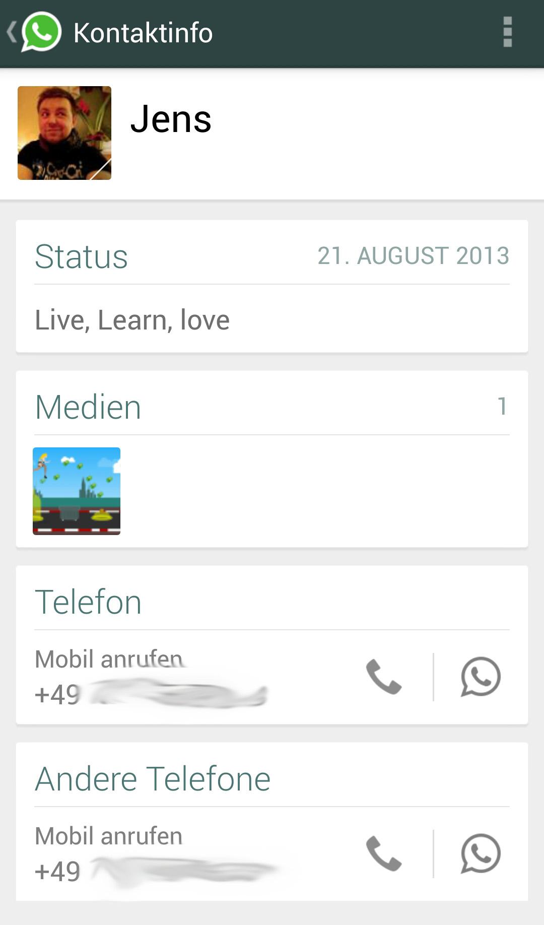 was ist profil
