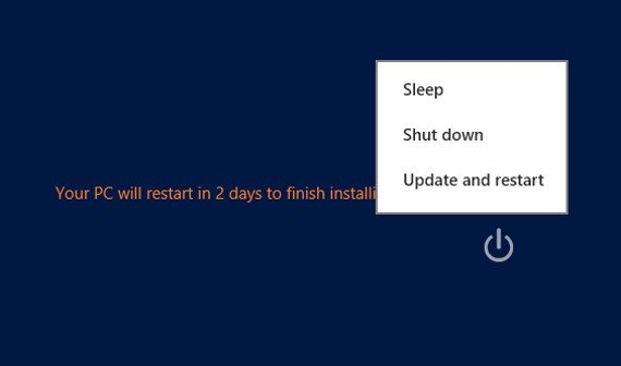 Windows 8/8.1: Neustart nach Updates verhindern