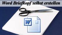 Briefvorlage: Word-Briefkopf als Vorlage speichern