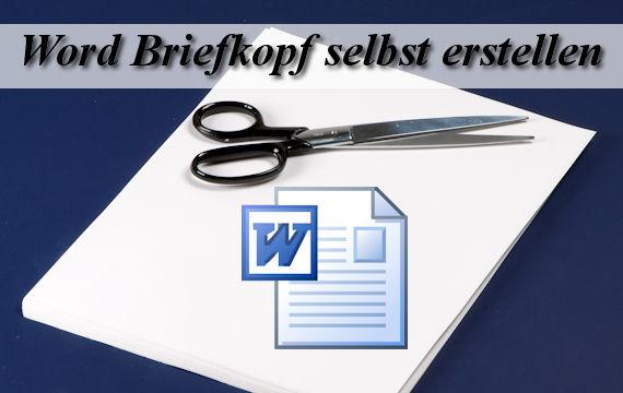 Briefvorlage Word Briefkopf Als Vorlage Speichern Giga