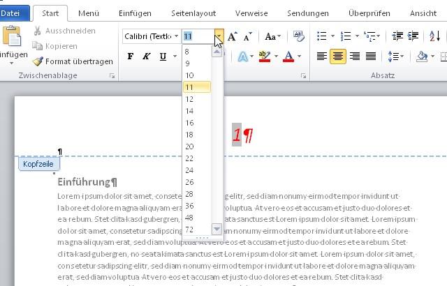 Ms word seitenzahlen deutsch 2 klasse lehrbuch 2